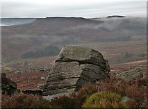 SK2681 : Rock upon Burbage Edge by Neil Theasby
