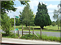 TQ4359 : Notional stile on footpath from Biggin Hill to Berry's Green by Robin Webster