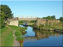 SK5023 : Bridleway bridge across the Zouch Cut in Nottinghamshire by Roger  Kidd