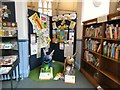 SJ8491 : Two little bees in Didsbury Library by Gerald England
