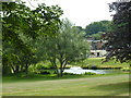 TQ4358 : Cherry Lodge Golf Club by Robin Webster