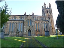 SO1091 : St David's church, Newtown by Penny Mayes