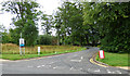 NS3421 : Caravan park entrance by Thomas Nugent