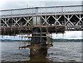NO3929 : Scaffolding on the Tay Bridge by Mat Fascione