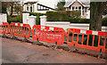 SX9065 : Barriers, Parkhurst Road, Torquay by Derek Harper