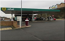ST1599 : Morrisons Refuel, Bargoed by Jaggery
