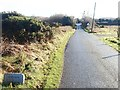 J0216 : Cloghinny Road approaching the junction with the B113 (Newry Road) by Eric Jones