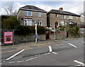 SS6696 : Three houses above Neath Road, Swansea by Jaggery