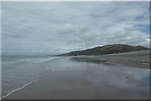 SH6014 : Exposed sand at Fairbourne by DS Pugh