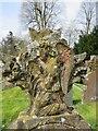 SO0158 : Detail on a headstone by Bill Nicholls