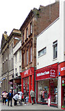 NS3321 : British Heart Foundation shop, Ayr High Street by Thomas Nugent