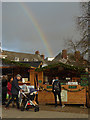 SX9292 : Falafel at the end of the rainbow by Chris Allen