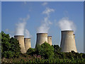 SK4929 : Cooling towers at Ratcliffe on Soar in Nottinghamshire by Roger  Kidd