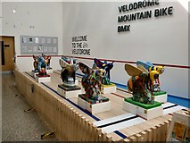 SJ8798 : Ten Little Bees at The Velo'drone by Gerald England