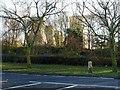 SE5724 : Milestone at Eggborough by Alan Murray-Rust