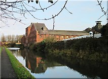 SO9988 : Langley Maltings (Canalside) by Noisar