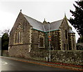 SO0328 : East side of the Parish Church of St David, Llanfaes, Brecon by Jaggery
