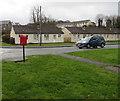 SO0328 : Ffynnon Dewi bungalows, Llanfaes, Brecon by Jaggery