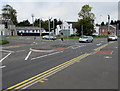 SS6695 : Pelican crossing at the northern end of Morfa Road, Swansea by Jaggery
