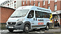 J3474 : Variety Club minibus, Belfast (December 2018) by Albert Bridge