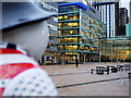 SJ8097 : What the Snowman™ Saw - MediaCity Piazza by David Dixon