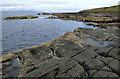 NS3030 : Coastal bedrock at Port Ronnald by Thomas Nugent