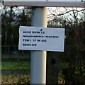 SE6027 : Hagg Bush pedestrian level crossing by Alan Murray-Rust