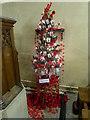 TQ6349 : Christmas Tree Festival at Hadlow by Marathon