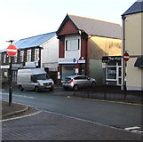 ST1586 : No Entry signs, Market Street, Caerphilly by Jaggery
