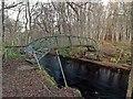 NH7674 : Appitauld Footbridge over the Balnagown river by valenta