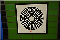 TQ2981 : Labyrinth, Goodge Street Station by N Chadwick