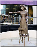 SJ8397 : Rise Up Women - The Statue of Emmeline Pankhurst by David Dixon