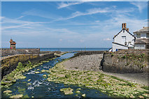 SS7249 : Mouth of the River Lyn by Ian Capper