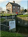 SE5726 : Haddlesey Flood Lock, Selby Canal by Alan Murray-Rust