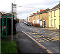 ST1195 : Llwyn yr Eos bus stop and shelter, Nelson by Jaggery