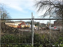 SE3321 : Construction site, off College Grove Road by Christine Johnstone