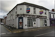 ST1195 : Former Barclays bank branch, 20 Commercial Street, Nelson by Jaggery