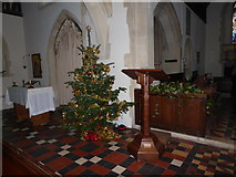 TQ0216 : Advent at Saint Giles, Coldwaltham (c) by Basher Eyre