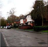 ST1195 : Houses at the eastern end of Wern Crescent, Nelson by Jaggery