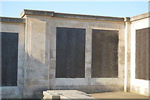 SX4753 : Plymouth Naval Memorial - North West Europe panel by N Chadwick