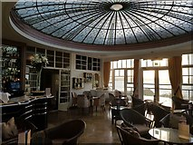 SX6443 : Burgh Island Hotel - Lounge and dome by Rob Farrow