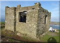 SX6443 : Burgh Island - Huer's Lookout, Former St Michael's Chapel by Rob Farrow