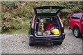 SD6350 : Mountain Rescue Dog by Bob Harvey