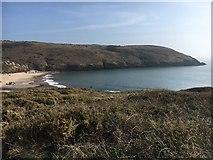 SS0597 : Manorbier Bay by Shaun Ferguson
