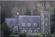 SH5638 : St John's Church Porthmadog by Arthur C Harris