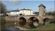 SO5012 : Monmouth - Monnow Bridge by Colin Park