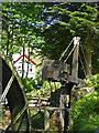 SX0055 : Wheal Martyn - 35' waterwheel balance box by Chris Allen