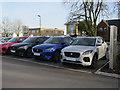 TL4859 : Jaguar E-Pace, Marshal Motor Group by Hugh Venables