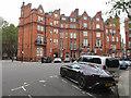 TQ2779 : Hans Place, Knightsbridge by Hugh Venables