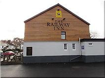 ST1095 : North side of the Railway Inn, Llanfabon by Jaggery
